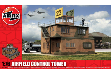 RAF Control Tower - 1:76 - Airfix