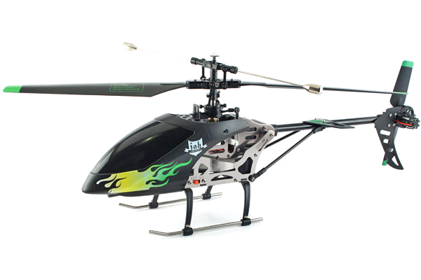 Radiostyrd helikopter - 2Fast2Fun F.A.H Outdoor - 2,4GHz - 4CH - RTF