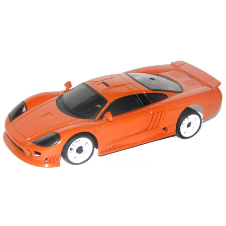 Radiostyrda bilar - 1:28 - Iwaver 02M Saleen - 2,4Ghz - Orange - RTR