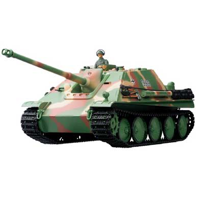 Radiostyrd stridsvagn - 1:16 - Jagdpanther - Cammo - BATTLE + Flash - Rök & ljud - RTR