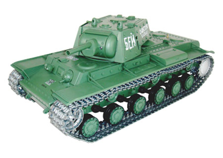 Radiostyrd stridsvagn - 1:16 - Russian KV-1 - BATTLE + Flash - METALL - rök & ljud - RTR