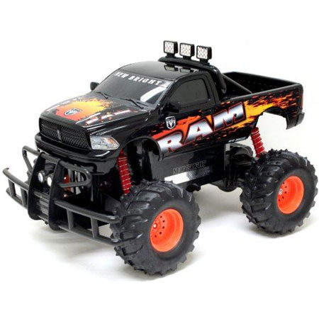 Radiostyrda bilar - 1:10 - New Bright Dodge RAM Blitz RC - RTR