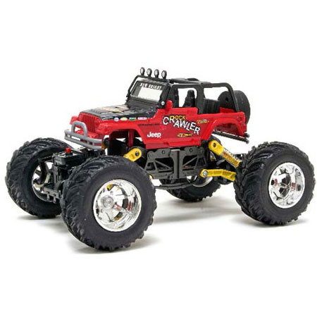 Radiostyrda bilar - 1:18 - New Bright Rock Crawler RC - RTR