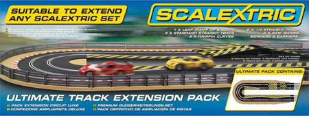 RC Radiostyrt Scalextric bilbana - Ultimate track extension pack