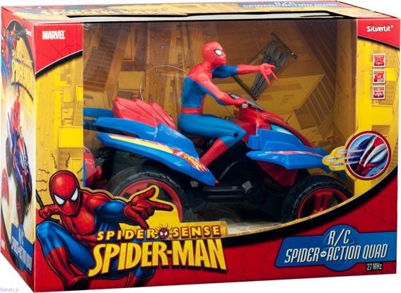 Radiostyrda Bilar Silverlit Spiderman Action Quad Rtr