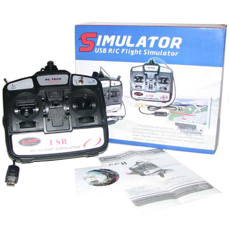 USB Simulator radio - 4 Kanals - DY - RTF