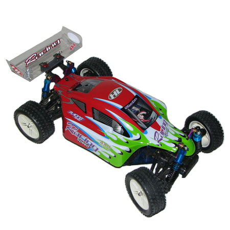 Radiostyrda bilar - 1:10 - Stuck up 4wd 3600 - 2,4Ghz - RTR