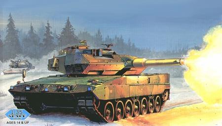Byggmodell stridsvagn swedish strv 122 leopard hobbyboss 1 35