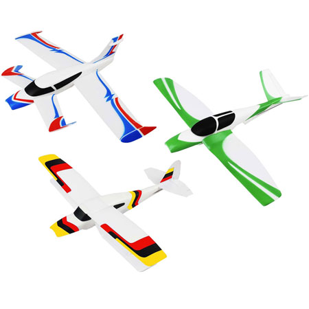 RC Flygplan - TechToys 3in1 Swap and Fly - 2,4G - 3ch - RTF