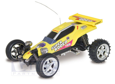 Radiostyrda bilar - 1:52 - TechToys Microbuggy - RTR