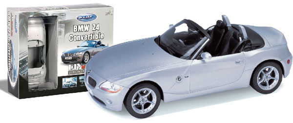 Byggmodell - 1:18 - BMW Z4 Cab - Metall