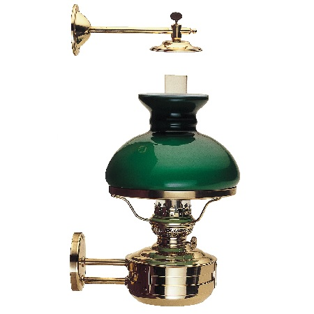 LIBERTY LAMP, GREEN SHADE 8813G/O