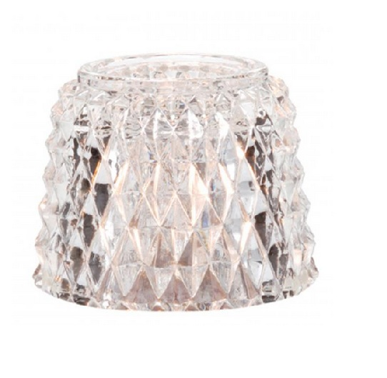 Hollowick Cocktail Diamant Lampglas. 33C