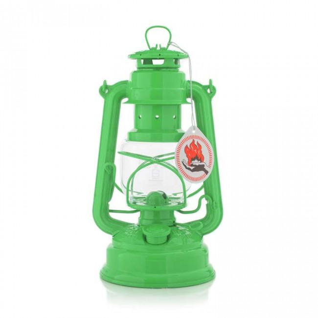 Feuerhand Hurricane Lantern  276 YELLOW GREEN  276-6018