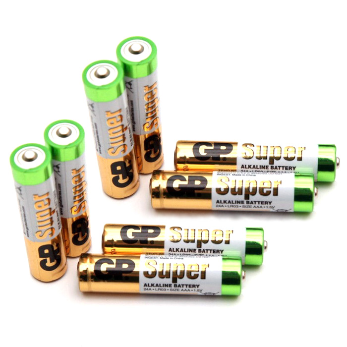 Batteri - AA 1,5V - 8 Pack - GP ULTRA