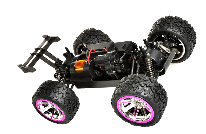 Radiostyrd bil - 1:12 - Land Buster 2,4Ghz - Yellow - RTR