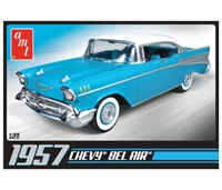 Byggmodell bil - Chevy Bel Air 1957 - 1:25 (inkl.engine) - AMT