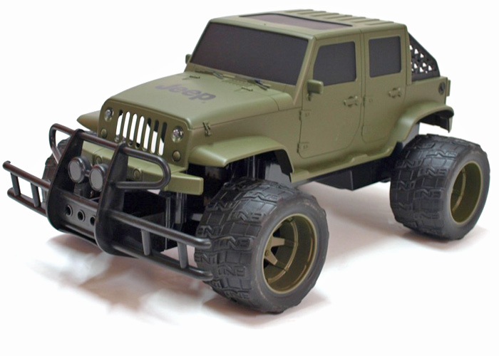 Radiostyrd bil - 1:14 - Jeep Cross-Country - RTR