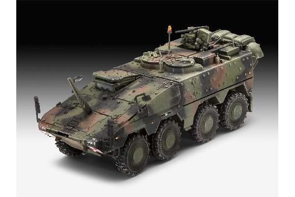 RC Radiostyrt Byggmodell stridsfordon - GTK Boxer Command Post NL- 1:72 - Re