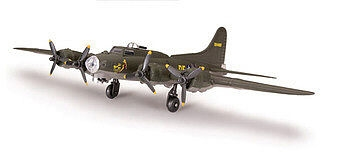 RC Radiostyrt Byggmodell flygplan - B-17 Flying fortress, NO GLUE 1:12 Testors