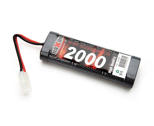 Batteri NiMH - 7,2V 2000mAh - Racing Pack - Tamiya