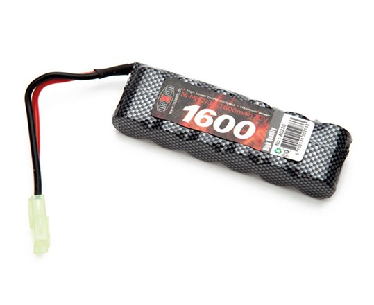 Batteri NiMH - 7,2V 1600mAh - Racing Pack 2/3A - Mini Tamiya