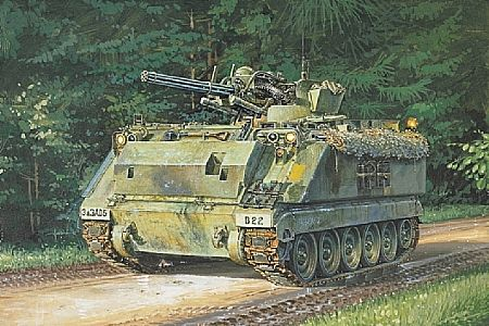 Byggmodell stridsfordon - M163 Vulcan - 1:72 - IT