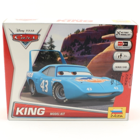 Byggmodell snap - King - Disney Cars