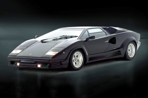 RC Radiostyrt Byggmodell bil - Lamborghini Countach 25Th Anniversary  - 1:24 - IT