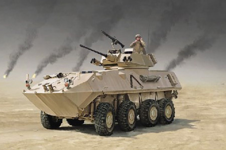 RC Radiostyrt Stridsfordon Byggmodell - LAV-25 Piranha GULF WAR - 1:35 - IT