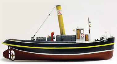 Byggmodell båt trä - Liman II - Steam Tugboat - 1:50 - TM