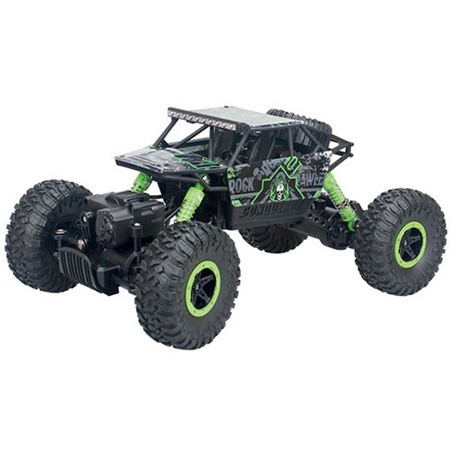 Radiostyrda bilar - 1:18 - Rock Crawler Rock Through - 2,4Ghz - RTR