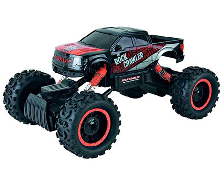 Radiostyrda bilar - 1:14 - Rock Crawler King - 2,4Ghz - RTR