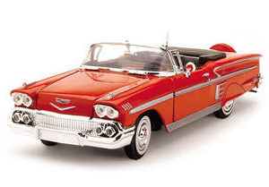 RC Radiostyrt Byggmodell bil - Chevy Impala Convertible 1958 - EASY BUILD - 1:24 - TE