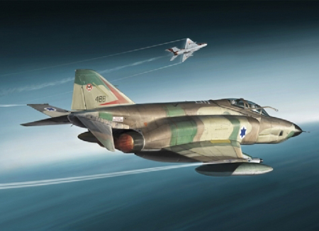 RC Radiostyrt Byggmodell flygplan - RF-4E Phantom - 1:48 - IT