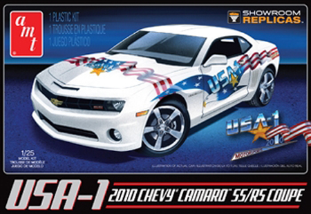 RC Radiostyrt Byggmodell bil - 2010 USA-1 Chevy Camaro SS:RS Coupe - 1:25