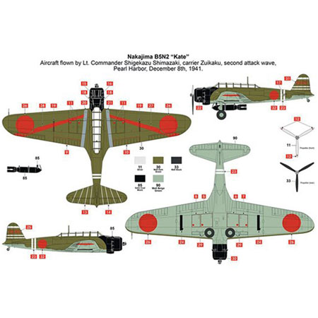 Bygmodell flygplan - Pearl Harbor - 75Th Anniversary Gift Set - 1:72 - Airfix
