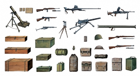 Byggmodell - Accessories WWII etc. - 1:35 - IT