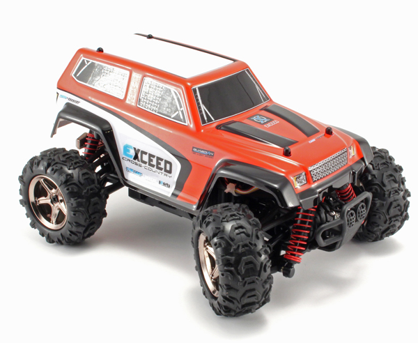 Radiostyrd bil - 1:24 - CoCo Cross Country 4WD - 2,4Ghz - RTR