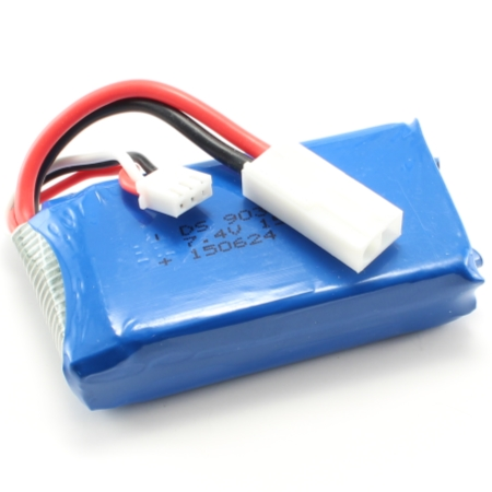 Batteri - 7,4V 1500mAh Li-Po - FT009 - FL