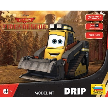 RC Radiostyrt DRIP - Disney Fire & Rescue