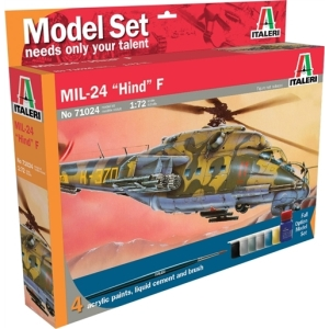 RC Radiostyrt Modellhelikopter - UH 60 DESERT HAWK - Model set - 1:72 - Italeri