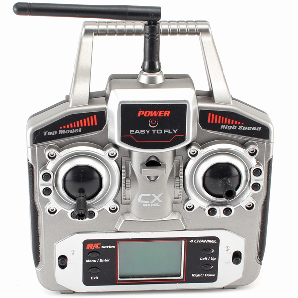 Radiostyrd helikopter - CX-Model 013 Gyro Edition - 2,4Ghz - 4ch - RTF