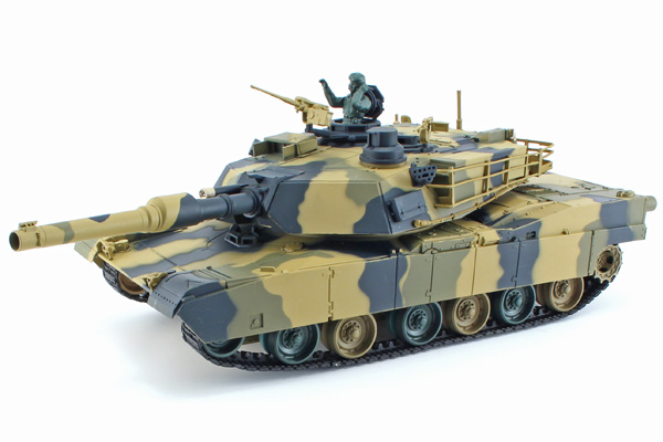 Radiostyrd stridsvagn - 1:24 - M1A2 Abrams - s.airg. - RTR