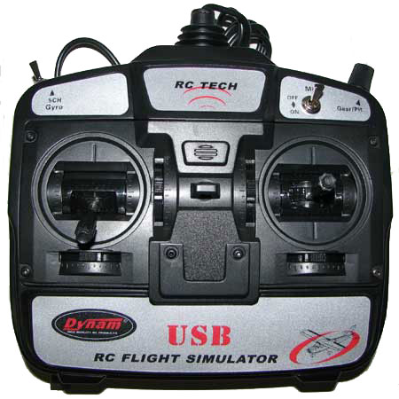 USB Simulator radio - 6 Kanals - DY - RTF