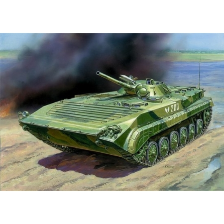 RC Radiostyrt stridsfordon - BMP-1 Russian Infantry Fighting Vehicle - 1:35