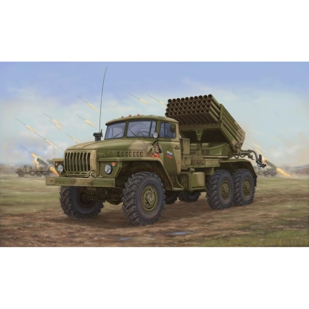 RC Radiostyrt stridsfordon - Russian BM-21 Hail MRL -Late - 1:35